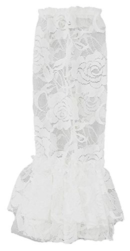 Wenchoice Girl's White Lace Leg Warmers One Size