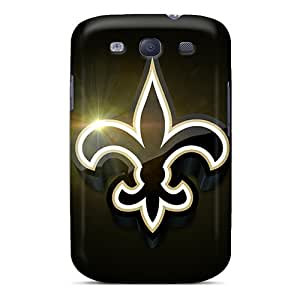 Hot Fashion GSR10188FQtk Design Cases Covers For Galaxy S3 Protective Cases (new Orleans Saints)