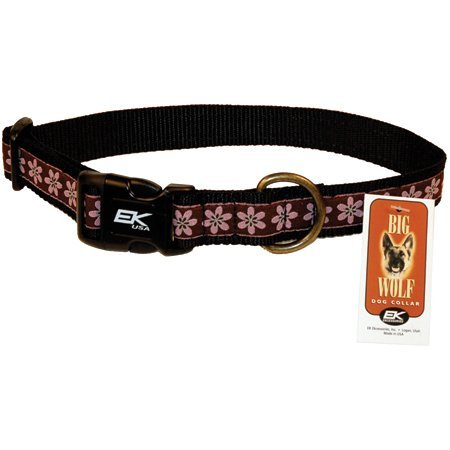 EK USA Big Wolf Dog Collar