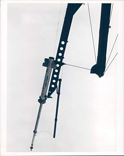 (Vintage Photos 1967 Press Photo NASA Wallops Island Mike Tomahawk Propellant Rocket Design 8X10)