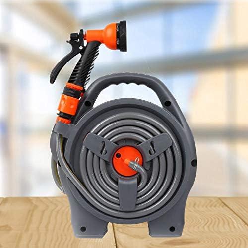 Pandiki Garden Hoses Reel Storage Cart Rack Holder Holder Waterpipe Reel Winding Waterpipe Bracket Handle Tool Bracket Handle Tool