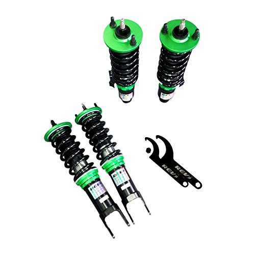 Rev9(R9-SC-0007_3) Hyper-Street Coilovers For Honda Civic 1996-00, Twin Tube, Height/32-Way Dempening Adjustable (Honda Coilovers Civic)