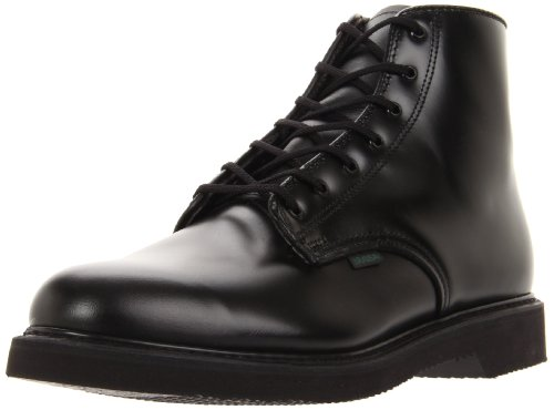 Uniform Chukka Bates Leather Inch 6 Black Men's Lites WAPAqIO