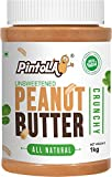 Pintola All Natural Peanut Butter (Crunchy) (1 kg) (Unsweetened, Non-GMO, Gluten Free, Vegan)