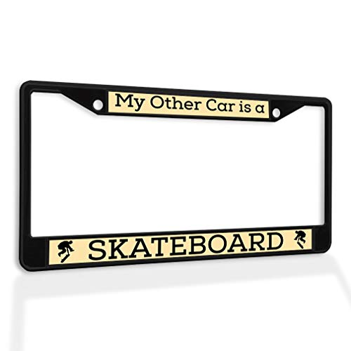 license plate frame skateboard - 6