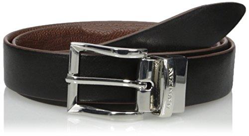Armani-Jeans-Mens-Reversible-Tumbled-Leather-Belt