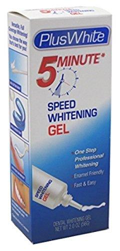Plus White Sensitive Care 5 Minute Speed Whitening Gel  2 Oz