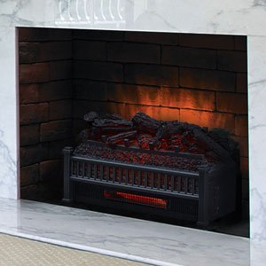 Gas Fireplace Log Inserts. Comfort Smart 23 Inch Infrared Log Insert Electric Fireplace Set Amazon com