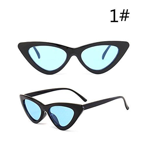 Gafas Gafas Hembra Gafas a Oculos Rojo Sol Sol TIANLIANG04 De De Uv400 Pequeñas Edad De Mujeres Espalda Gafas Ojo De I Negro De Gato De wCCRIpxq