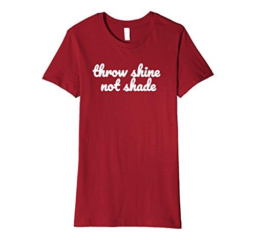 ot Shade - Empowerment - Feminist Shirt XL Cranberry (Ladies Throw)