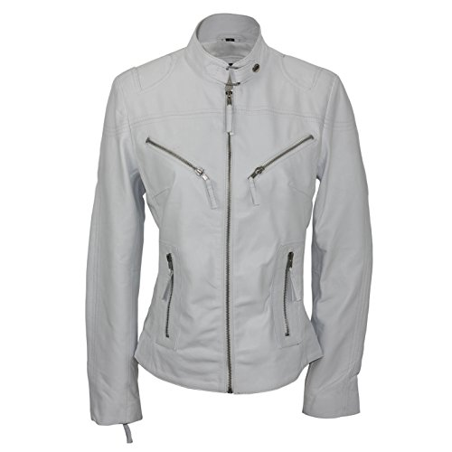 Xposed Teddy Blouson unique Blanc Femme taille fvHwfq