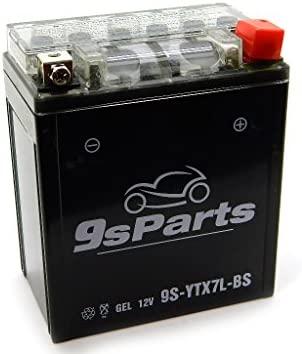 9sparts YTX7L-BS maintenace libre 12 V sellada gel batería ...