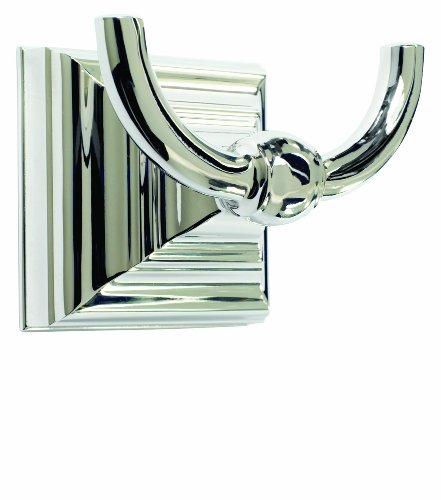 Amerock BH26512-PN Markham Collection Robe Hook, Polished Nickel by Amerock