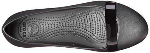 Flat black Black Crocs Black Brynn ZAqwO5