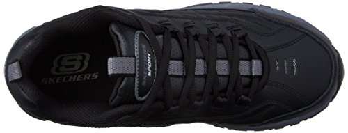 Skechers Men's Energy Afterburn Lace-Up Sneaker,Black/Gray,14 M US by Skechers (Image #8)