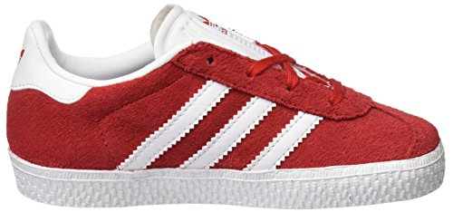 adidas Originals Jungen Gazelle I Sneaker Rot (Scarlet)