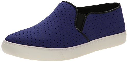 Cole Haan Women's Bowie Slip-On Fashion Sneaker, Bristol Blue Perforated Textile, 5.5 B US