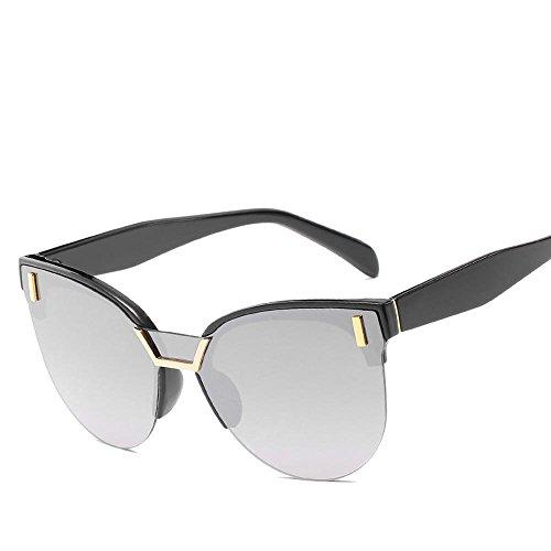 Aoligei sombra hombre B señora Gafas tendencia retro sol sol de de gafas de de gafas gato espejo moda de OOZrSnwq
