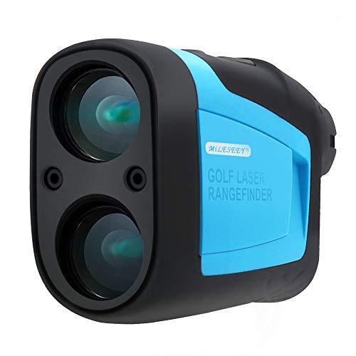 MiLESEEY Precision Pro Golf Rangefinder Laser Binoculars 660 Yard 6X Magnification with...
