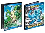 Pokemon Trading Card Album / Binder - Ultra PRO Pokemon DIAMOND & PEARL - Majestic Dawn - 4 POCKET - Combo Album - PORTFOLIO