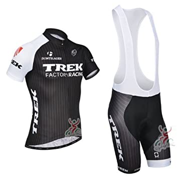 TREK Cycling Jersey Cycling Clothing Bib Shorts Kit kit black (XXXL ... 35bdbe83d