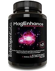 MagEnhance Magnesium-L-Threonate Complex, With Magnesium Glycinate and Taurate, 100% Money Back Guarantee! Vitamin Magnesium.