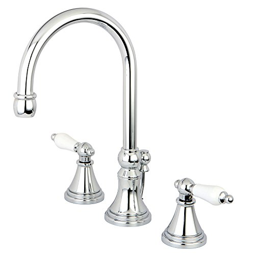 Madison Polished Faucet Chrome (Nuvo ES2981PL Elements of Design Madison 2-Handle 8