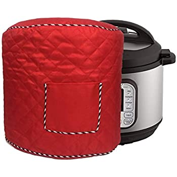 Kitchen Appliance Cover Bag for 8 Quart Electric Pressure Cooker and Rice Cooker with Front Pocket for Accessories 14