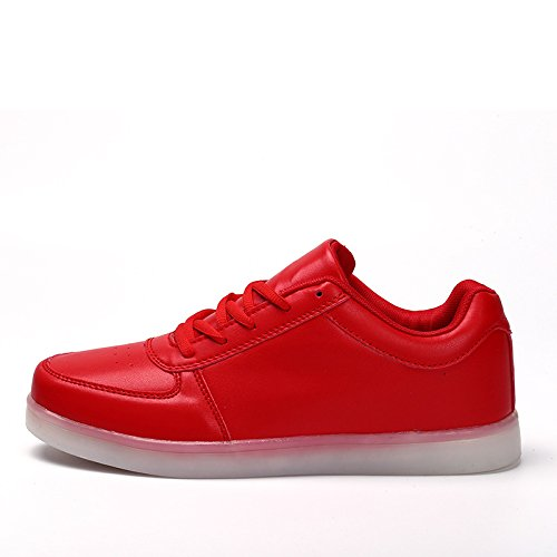 Leisure Red amp; Lovers Drawers Coloured LightWeight Red Low Shoes DX 'W Raptors Brightly ZFqwPP