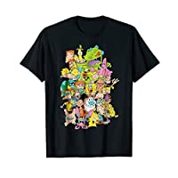 Nickelodeon Complete Nick 90s Throwback Character T-Shirt