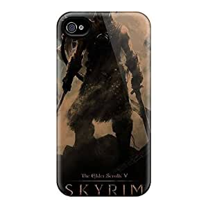 Excellent Iphone 4/4S Cases Covers Back Skin Protector Skyrim