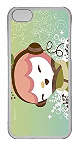 iPhone 5C Case, Personalized Custom Zune Happy for iPhone 5C PC Clear Case