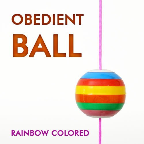 Magician's Obedient Commanding Ball Rainbow Colored Ball Close Up Magic Trick