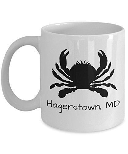 Hagerstown crab mug | Maryland themed gift