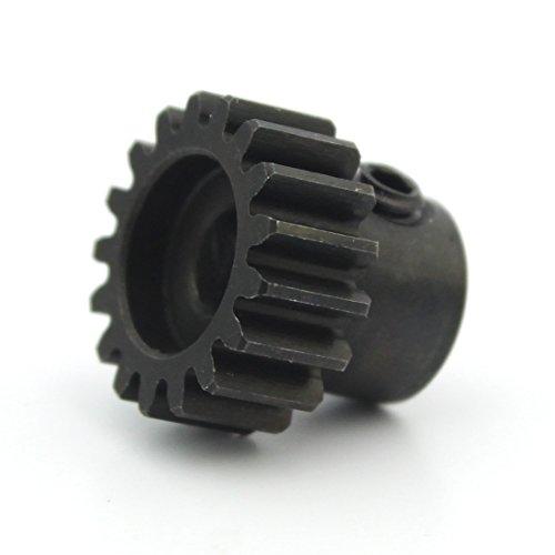Hobbywing M1 11T 13T 15T / 32P 0.8M 15T 17T 19T 5mm Shaft Steel Pinion for 1/8 Car Motors R/C Hobby Brushless Motor Gear (32P-19T)