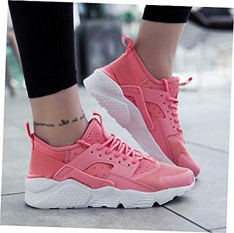 61a51a91a40eac Amazon.com  Shoes Pink Size US 5  UK 3  EU 35.5 Womens Sneakers ...