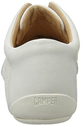 Camper Peu Summer Senda, Zapatillas para Mujer Blanco (White Natural 026)