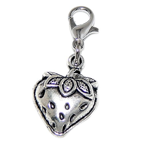 (Silver Plated Dangling Clip-on