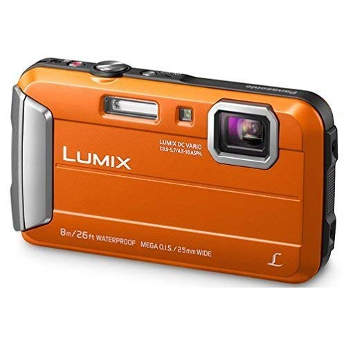 Panasonic DMC-TS30 LUMIX Active Lifestyle Tough Camera (Orange)