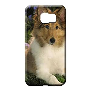 samsung galaxy s6 edge Brand Hot Awesome Phone Cases phone carrying covers sheltie puppy