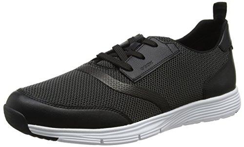 Geox Men's U Snapish a Trainers Black (Black C9999) Jc9f4Zb
