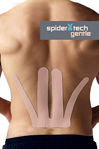 - Spider Tech Precut Gentle Lower Back Kinesiology Tape