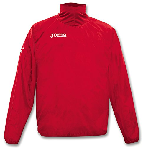 JOMA WIND POLYESTER RED WINDBREAKER 0