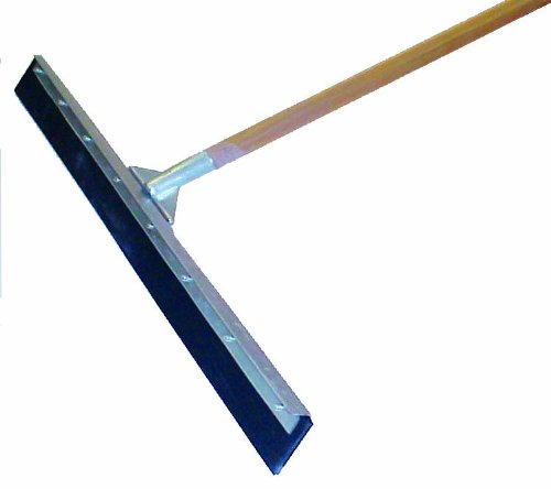 MARSHALLTOWN The Premier Line RED700245 36-Inch Straight Blade Squeegee with 60-Inch Wood Handle