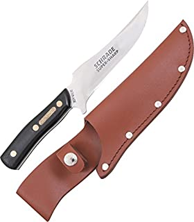 Amazon.com : Schrade Old Timer Sharpfinger Orange : Sports ...