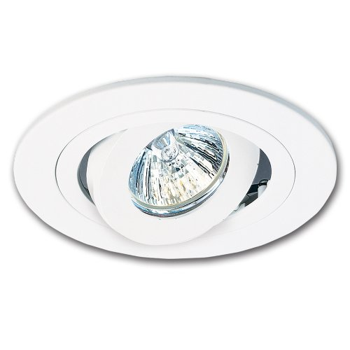 HALO Recessed 1495P 4-Inch Trim Adjustable Gimbal White