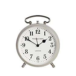 Thomas Kent New Age Alarm Clock, 4'', Dove