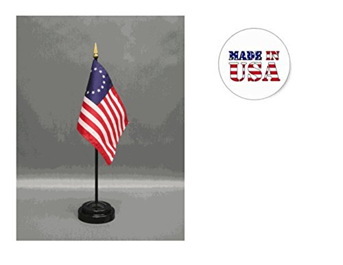 Made in The USA. 2 Betsy Ross 4