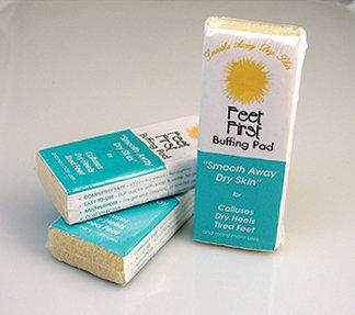 1 X Feet First Buffing Pad each. - Feet First Spa