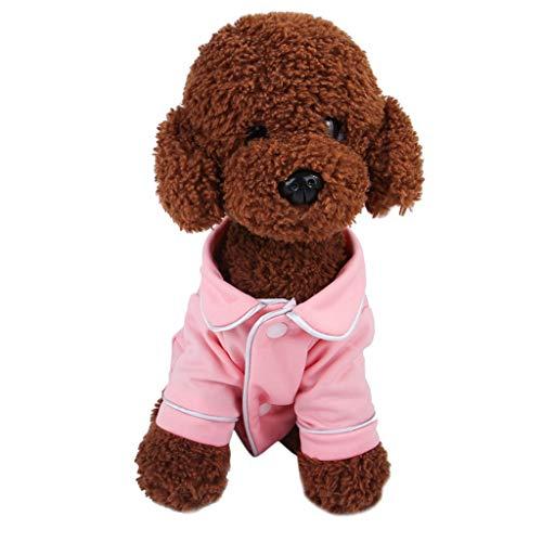 DGEES Small Medium Dog Clothes 2019 Sale Pet Puppy Sleepwear Pajamas Cute Sweet Clothing Apparel Costume